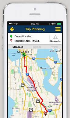 Trip Planned Iphone And Android App Trip Planner King County Metro