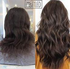 before and after nbr hair extensions by hailey