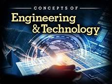 Technology Engineer Concepts Of Engineering Amp Technology Edynamic Learning