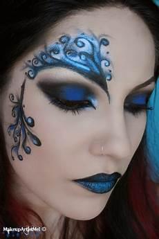 make up artist me blue secret blue masquerade makeup