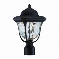 Led Outdoor Post Light Fixtures Designers Fountain Englewood Burnished Bronze Outdoor Led