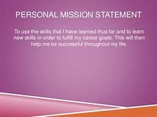 Career Portfolio Mission Statement Example Fdn Career Portfolio