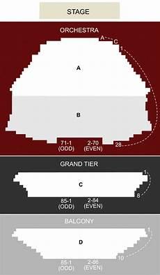 Gammage Seating Chart Asu Gammage Auditorium Tempe Az Seating Chart Amp Stage