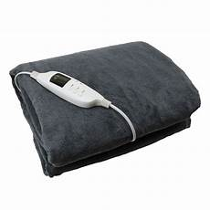 grey heated blanket glowmaster uk free delivery