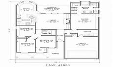 small ranch house plan two 2 bedroom house simple plan small two bedroom house floor
