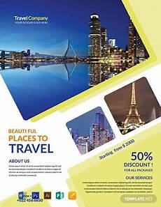 Free Travel Samples Free Travel Agency Flyer Template Word Doc Psd