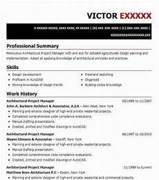 Architectural Project Manager Resume Architectural Project Manager Resume Example Tricarico