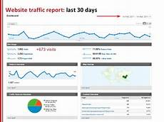 Website Report Templates Seo Report Template