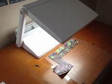 Vinyl Light Box Using An Ottlite Light Box For Weeding Vinyl Silhouette