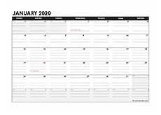 Daily Calendar 2020 Excel Printable 2020 Excel Calendar Templates Calendarlabs