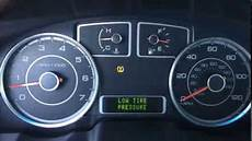Ford Fiesta Low Tire Pressure Light Low Tire Pressure Light On Dash Fix Tpms Ford Works For