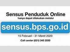 Sensus Penduduk Online 2020, Isi Data di sensus.bps.go.id