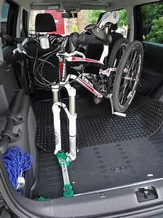 porta biciclette per auto portabici interno mtb mag forum