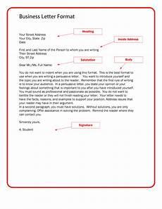 Business Letter Templet 35 Formal Business Letter Format Templates Amp Examples ᐅ