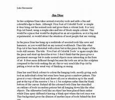 Artist Essay Examples Art Coursework Artist Analysis Gcse Art Marked By