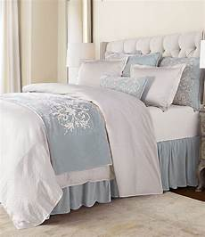 hiend accents embroidery bed scarf dillard s