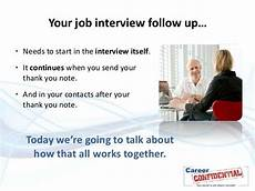 How Long After An Interview Following Up After The Interview