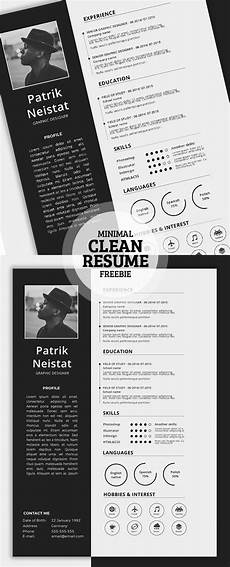 Resume Graphics 17 Free Clean Modern Cv Resume Templates Psd