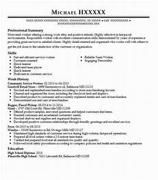 Community Service Worker Resume Community Service Worker Resume Sample Worker Resumes