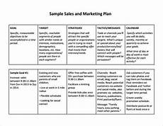 sales strategy business plan free sales plan templates free printables word excel