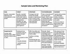 Free Sales Plan Templates Free Printables Word Excel