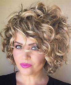 17 short curly hairstyles for women