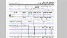 k1 visa approved how to fill out form g 325a biographic