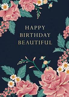 Happy Birthday Image For Her Happy Birthday Beautiful Birthday Card Cath Tate Cards