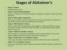 Alzheimers Stages Chart Alzheimer Powerpoint