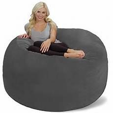 chill sack bean bag chair 6 memory foam furniture