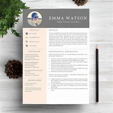 Creative Word Cv Templates 6 Work Resume Cv Templates Master Bundles