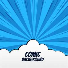 free vector graphics clipart comic background with clouds and rays free