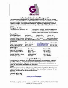 Sample Company Resume Company Resume
