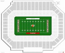 Stanford Stadium Seating Chart Seat Numbers Stanford Stadium Stanford Seating Guide Rateyourseats Com