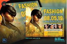 Fashion Show Flyers Tropical Fashion Show Flyer Flyer Templates Creative