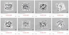 Princess Cut Diamond Earrings Size Chart All You Need To Know About The Princess Cut Jewelry Guide
