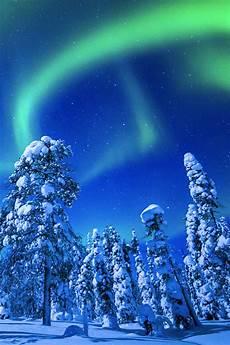 Iphone Wallpaper Winter Lights by Winter Northern Lights Iphone Wallpaper Hd