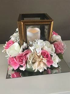 diy from dollar tree lantern floral centerpiece for
