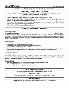 Inventory Skills Resumes Inventory Manager Resume