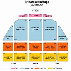 Artpark Mainstage Lewiston Ny Seating Chart Artpark Mainstage Lewiston Tickets Schedule Seating