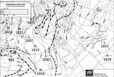 Surface Analysis Chart Depicts Surface Analysis Chart From Uk Meteorological Office For