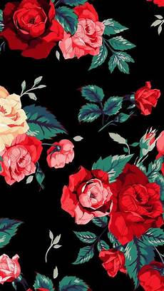black floral wallpaper for iphone roses iphone wallpaper projects to try