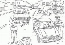 drei auto polizei ausmalbilder 75 malvorlage polizei