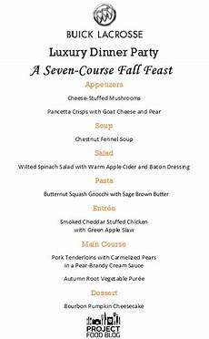5 Course Meal Menu Template Pin On New Year Dinner And Brunch Ideas