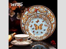 YeFine Bone Porcelain Tableware Luxury England Bone China