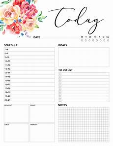 Planner Pages Free Printable 2019 Planner 50 Plus Printable Pages