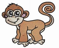 Monkey Design Cute Monkey Embroidery Designs Machine Embroidery Designs