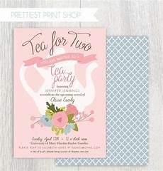Tea Party Photo Invitations Items Similar To Printable Tea Party Baby Shower