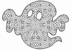 Halloween Zentangle Amp Mandala Coloring Pages Halloween