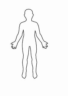 Human Outline Human Outline Sheet By Winni1 Teaching Resources Tes